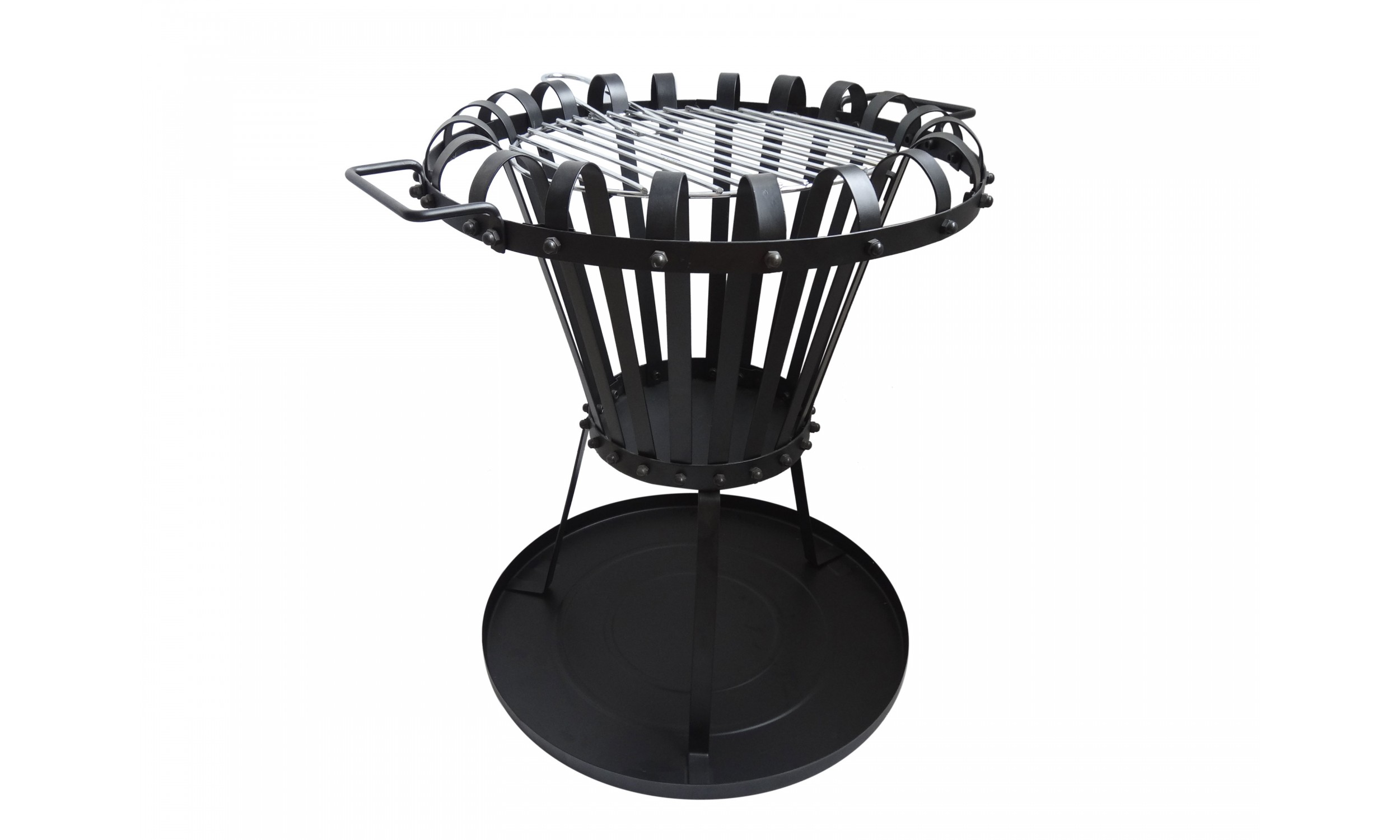 Fire basket with grill EFP2