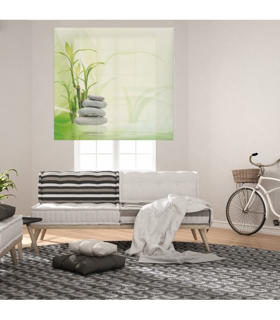 ROOM BAMBOO PRINT ROLLED STORE