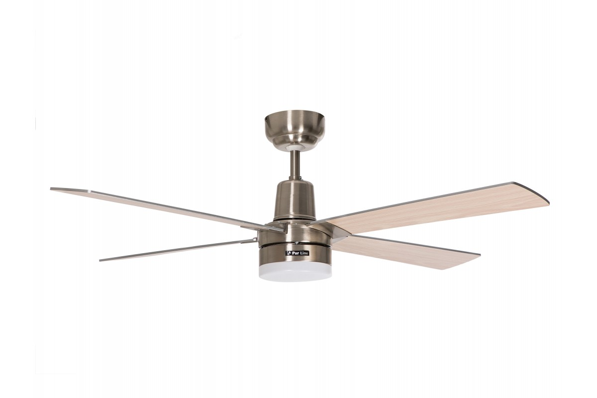 Ceiling Fan Motor DC Reversible with remote control and led light ELECTRON