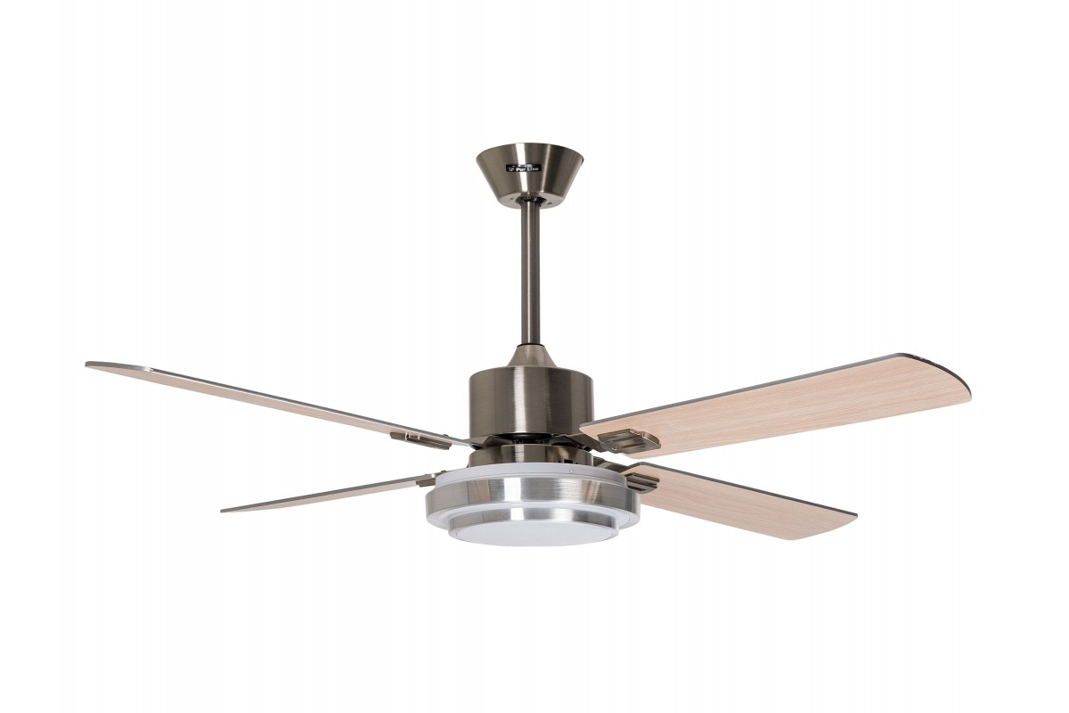 Ceiling Fan Motor DC Reversible with remote control and led light BLIZZARD DC
