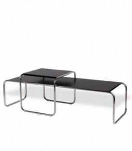 MARCEL BREUER Table -Limited Edition--Black wood Inspiración Marcel Breuer de Marcel Breuer