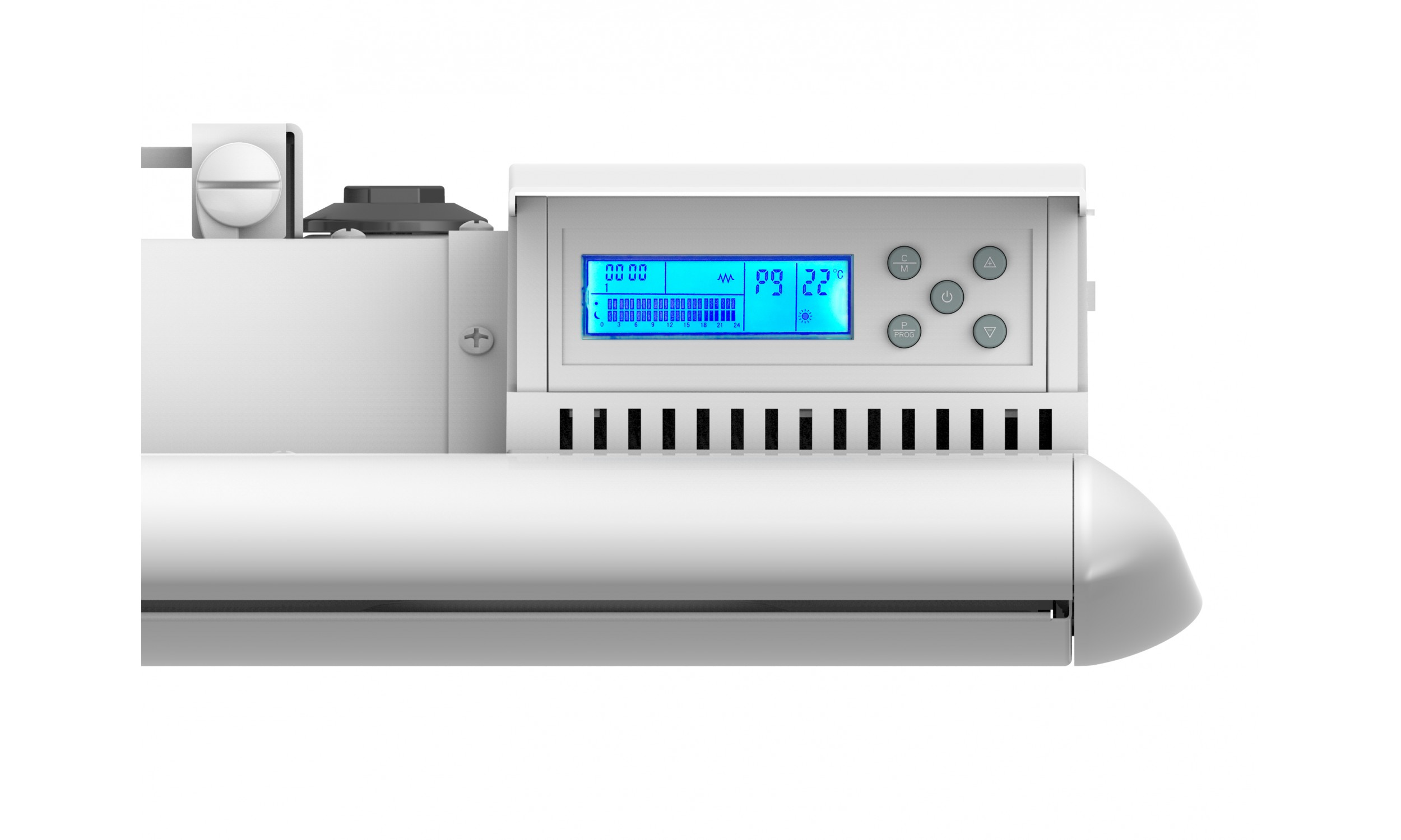 Digital inertia radiator with cast iron plate and mica film 2000W with wifi control Ceramica A2000
