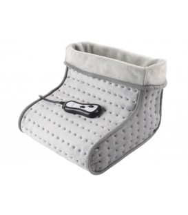 Electric wool textile foot massager