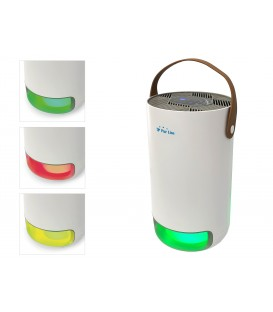 Air purifier with hepa filter, active carbon, UV Lamp and Ionizer, use 14m2, Fresh air 40