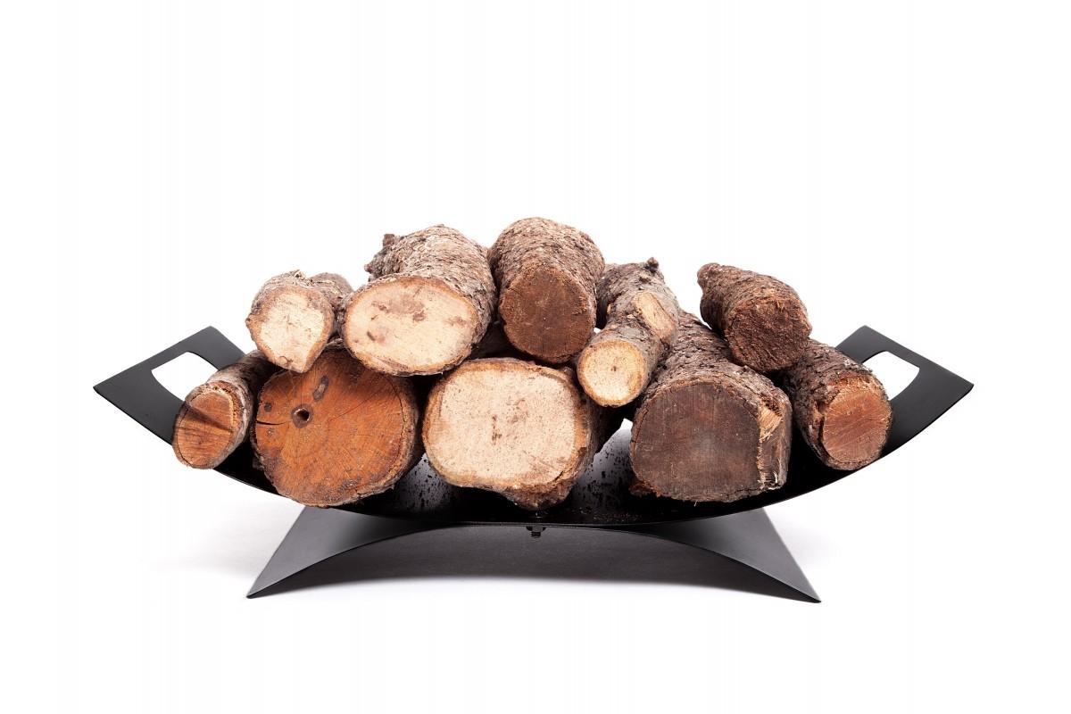 Supporto ovale in legno con maniglie per il trasporto EFP14