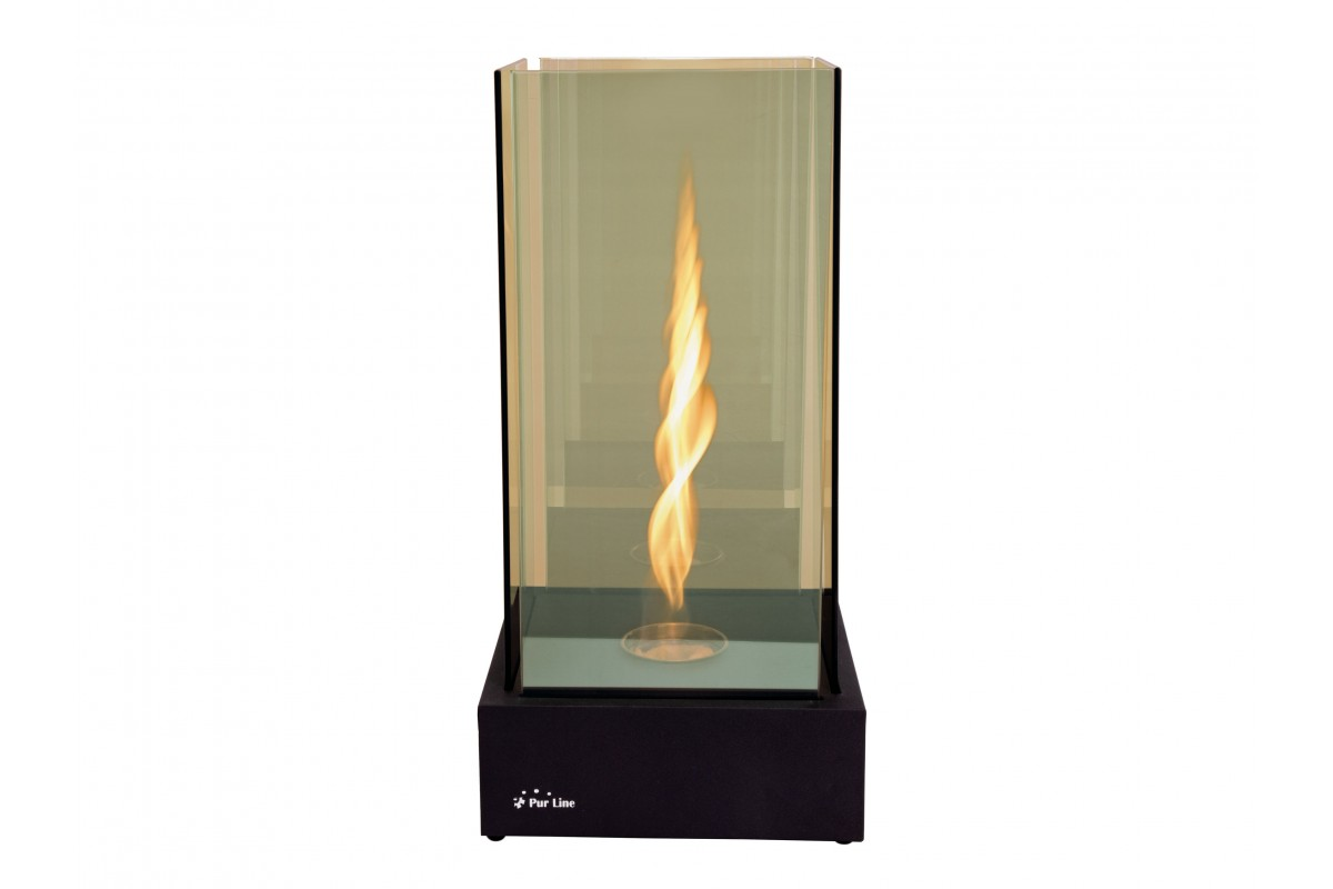 Bio-fireplace with Infinity flamme effect TORNADO INFINITY