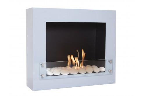 Bio-cheminée murale gris clair Limited Edition BESTBIO DESIGN G