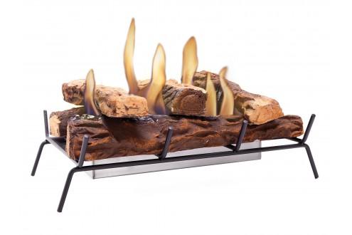 Bruciatore con griglia e tronchi LARA 45