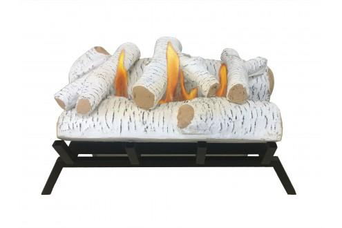 Bruciatore con griglia e tronchi LARA 55