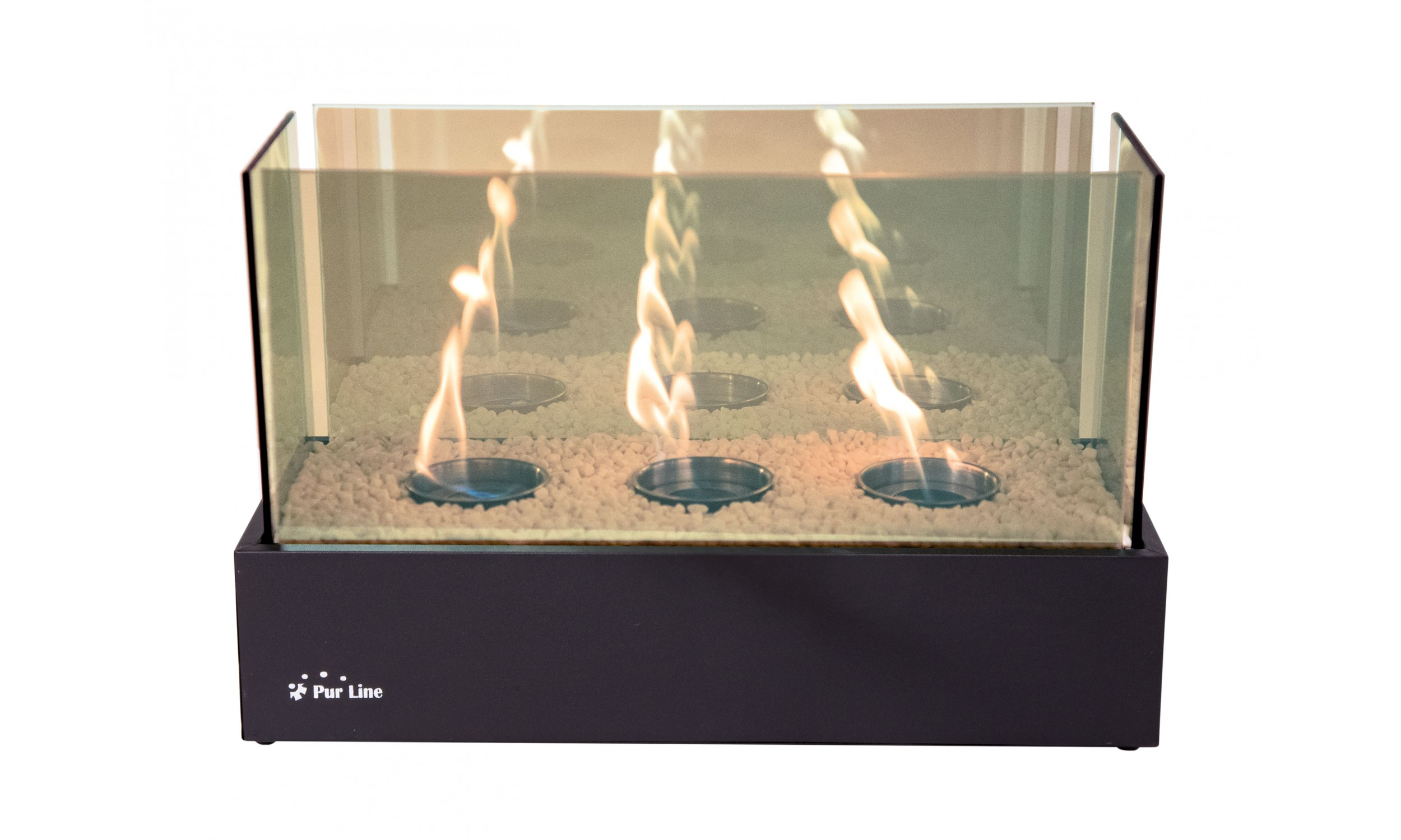 Bio-fireplace with Infinity flamme effect NYMPHA PLUS INFINITY