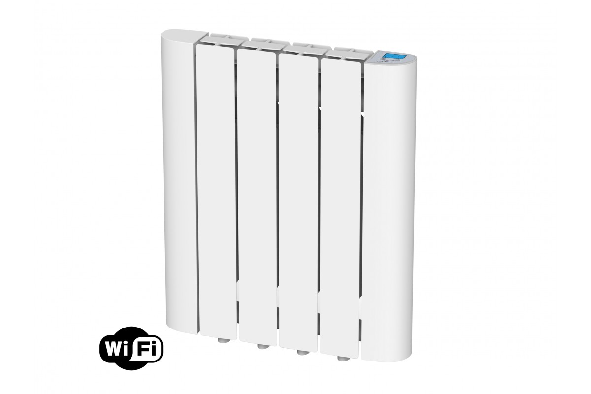 Digital Thermal Inertia radiator with internal fluid, 600W, wifi, Radoil A600