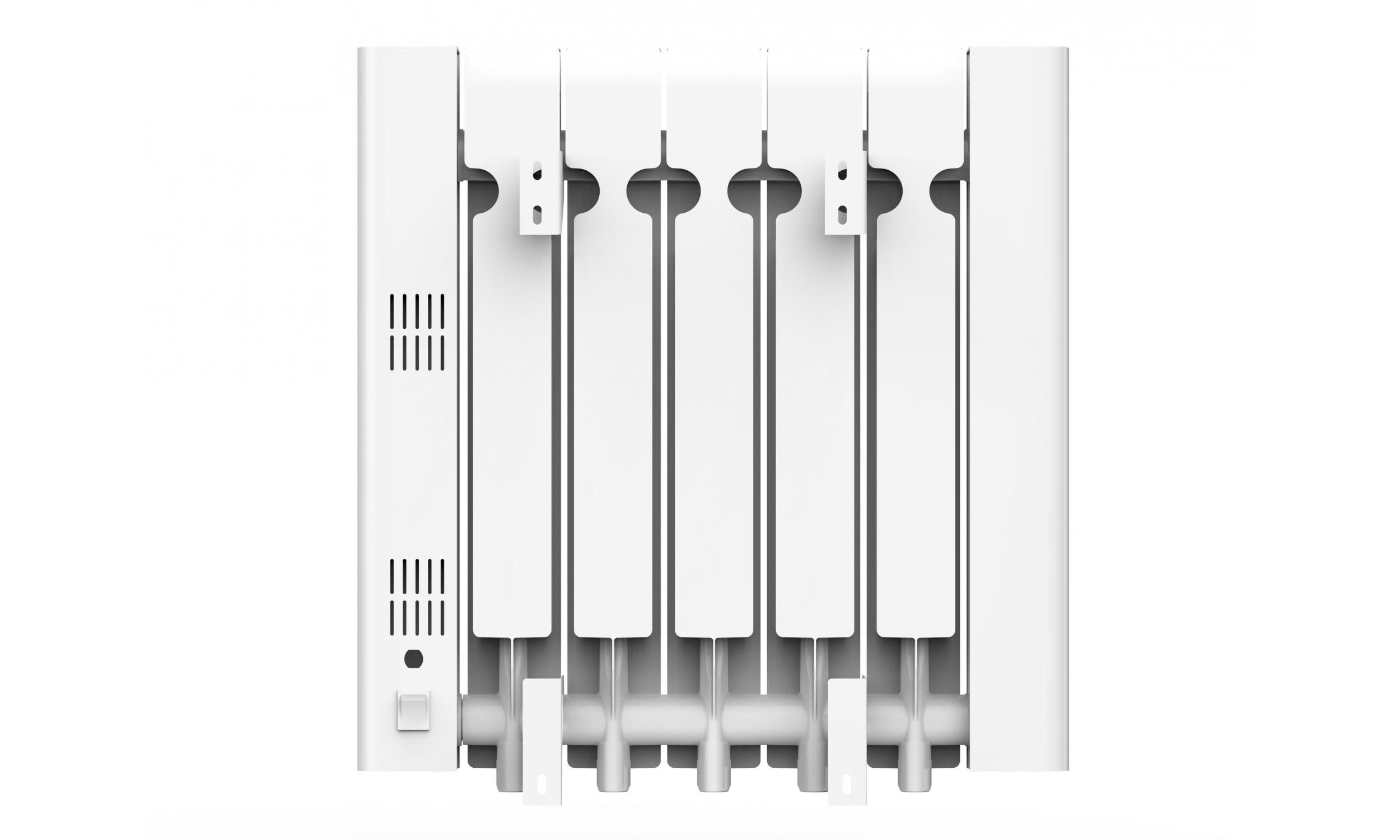Digital Thermal Inertia radiator with internal fluid, 900W, wifi, Radoil A900