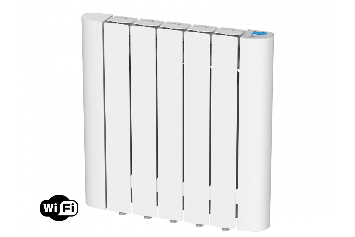 Digital Thermal Inertia radiator with internal fluid, 900W, wifi, Radoil A900