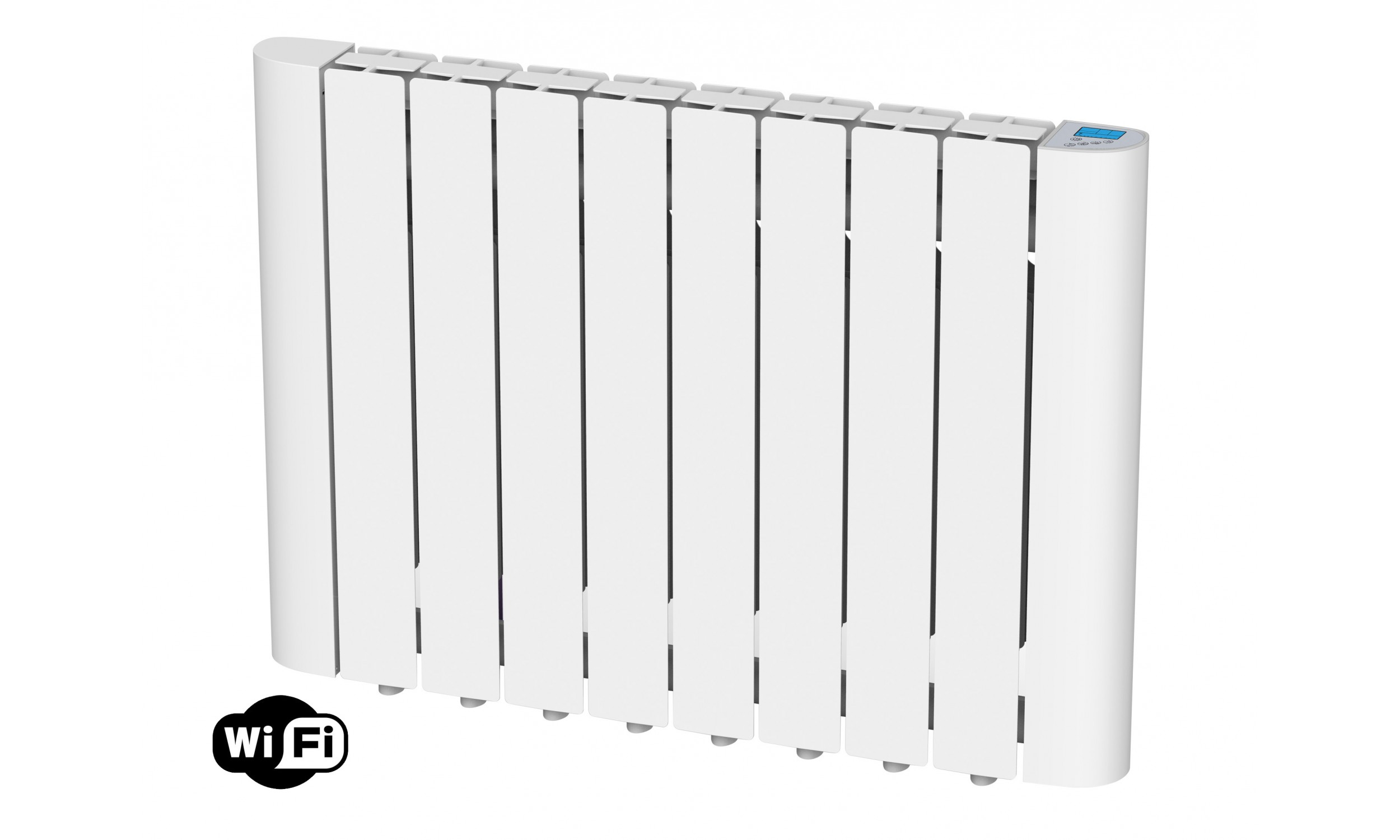 Radiateur numérique à inertie thermique avec fluide interne, 1500W, wifi, Radoil A1500