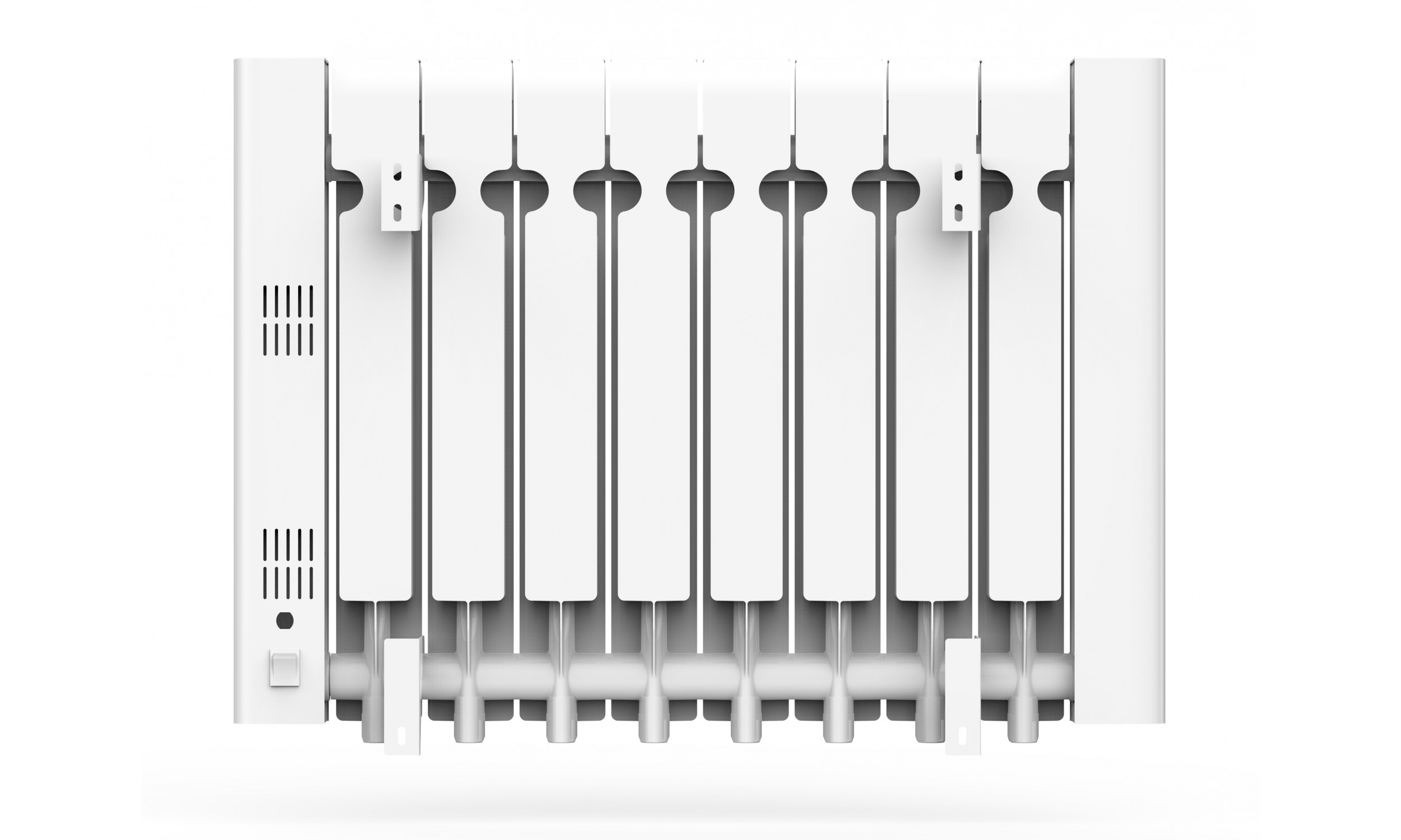Digitaler Wärmeträgheitskühler mit interner Flüssigkeit, 1500 W, WLAN, Radoil A1500