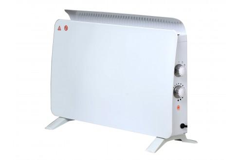 Radiateur à panneaux en verre trempé ZAFIR H1500N W blanc