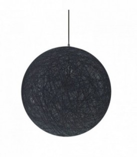 Lampada OVER 40-Black Inspiration Random Light di Bertjan Pot