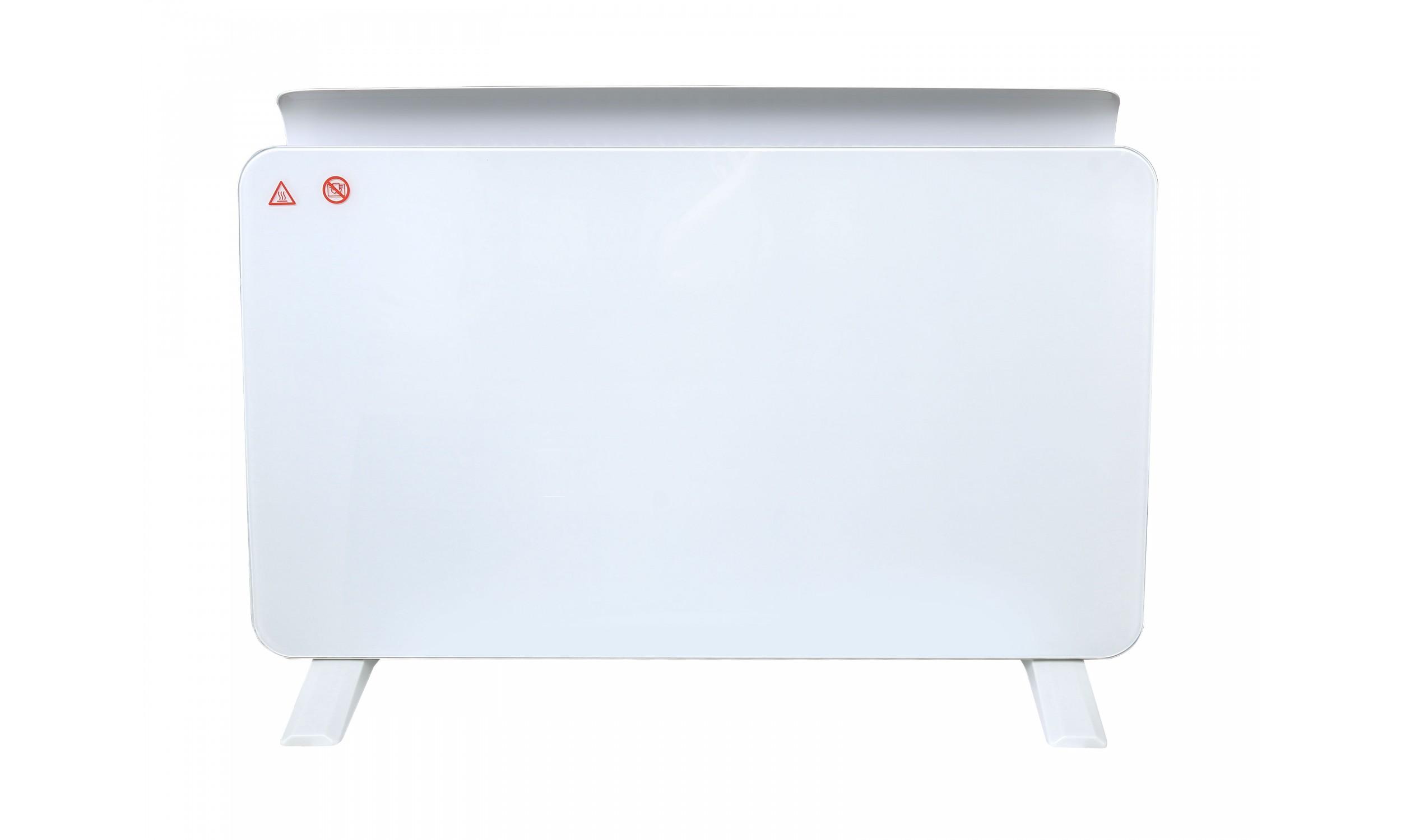 Glass panel radiator ZAFIR H1500N W
