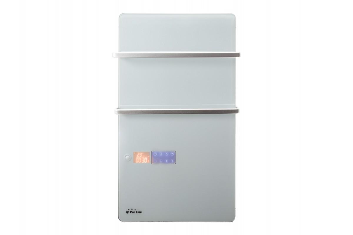 Porte-serviettes chauffant électrique numérique ZAFIR V2000T W