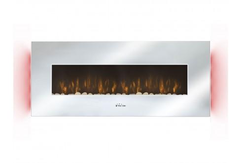 Elektrischer Panoramakamin mit LED-Umgebungslicht CHE-510 (Spiegel)