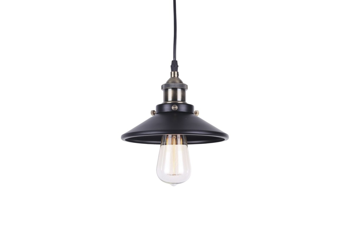 Lámpara CAPRA 19 -Vintage--Negro