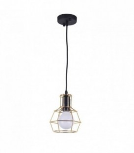 Vintage-Lampe MURIS -gold--Gold