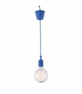 Vintage-Lampe OVIS -dunkelblau--Blue