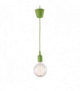 Vintage-Lampe OVIS -grün--Green
