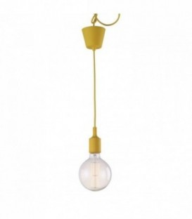 Vintage-Lampe OVIS -gelb--Yellow