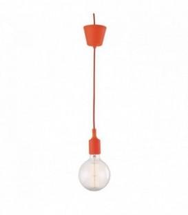 Vintage-Lampe OVIS -orange--Orange