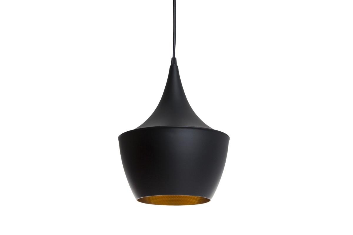 AMSTI Lamp-Black Steel Inspiración Beat Fat de Tom Dixon