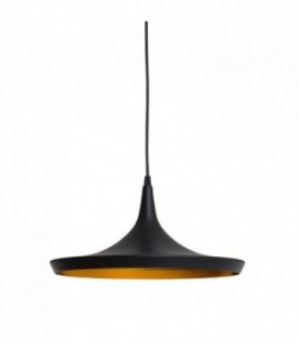 Lampe TERD-Black Steel Inspiración Beat Wide de Tom Dixon