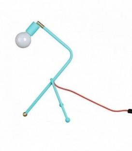 Lampe NODOS -Tisch--Turquoise