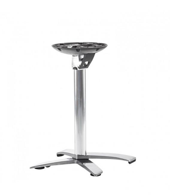 Base per tavolo in alluminio