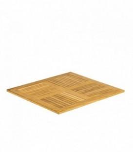 Tischplatte TEAK-Teak