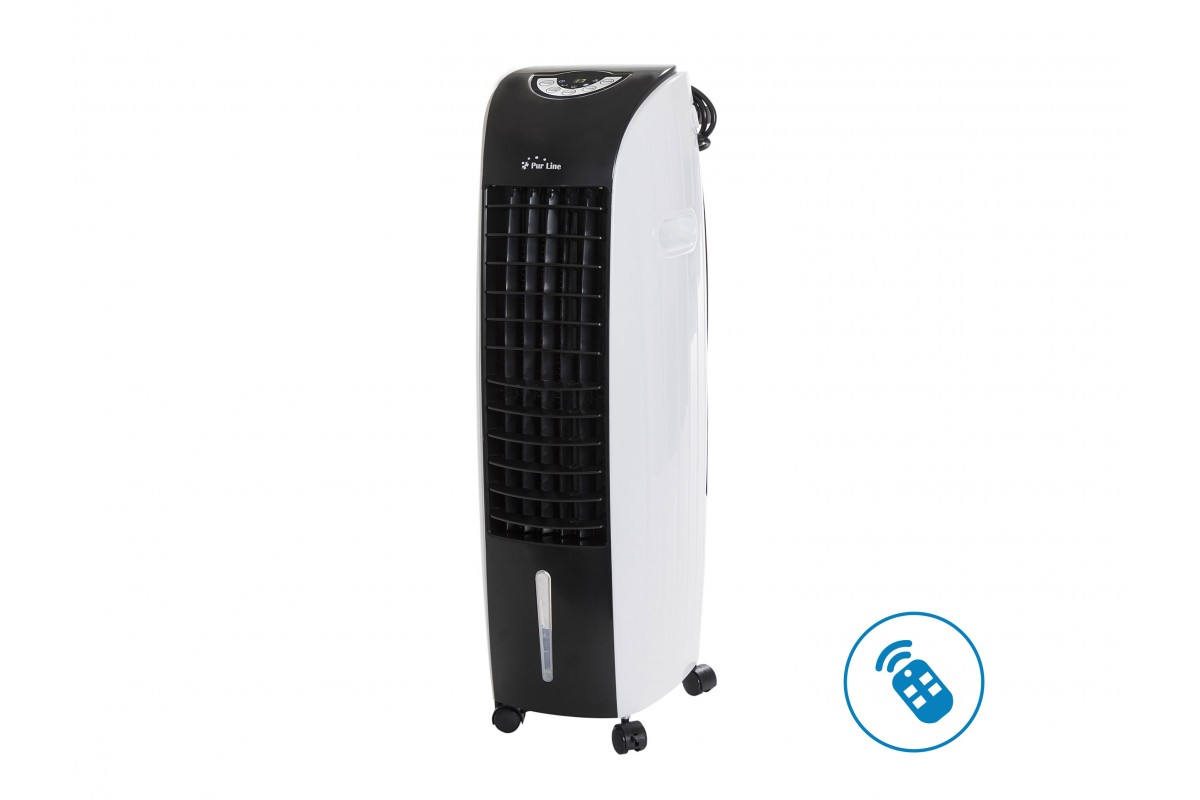 Evaporative air cooler with timer, remote control and wheels Rafy 71