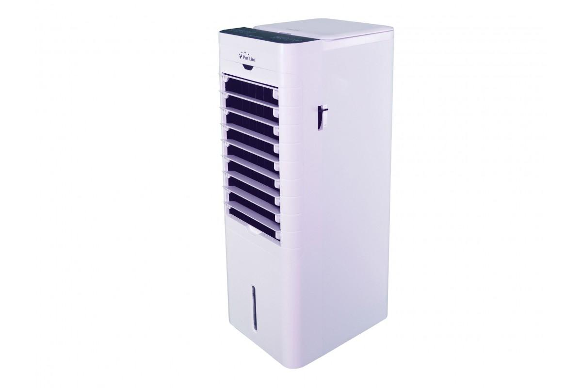 Climatizador Evaporativo digital con calefactor y mando a distancia