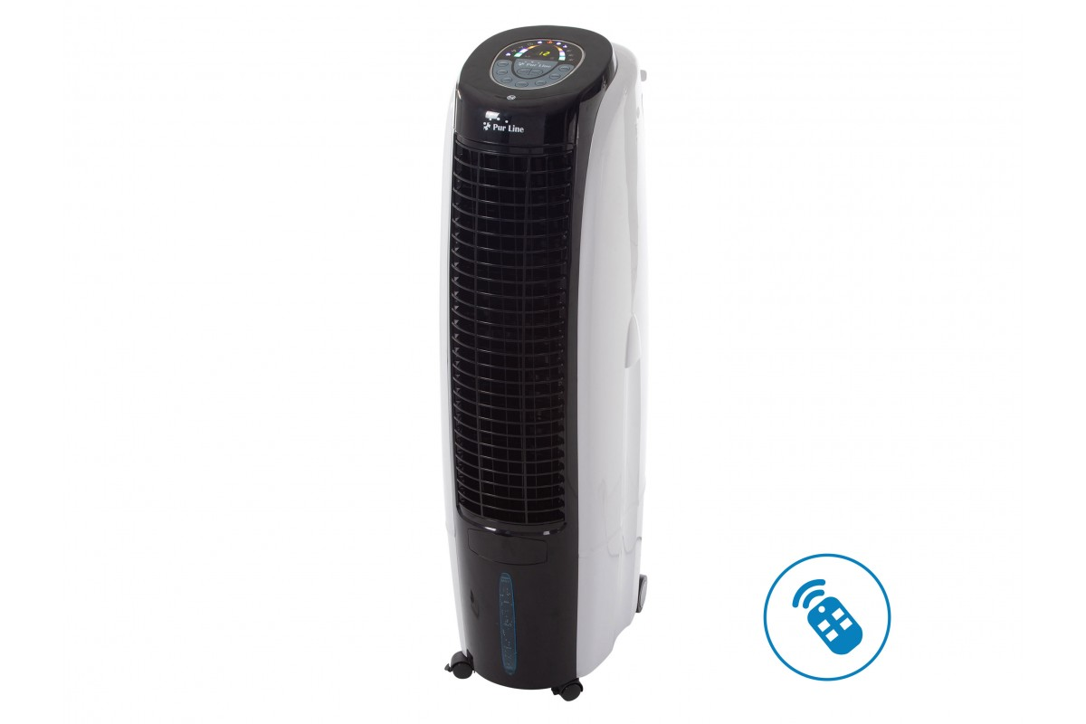 Evaporative air cooler of big airflow with timer, remote control and ionizer Rafy 125