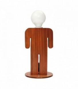 Lampada da tavolo MAN-Wood