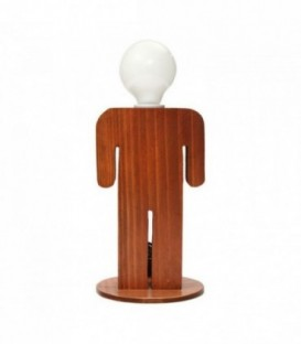 Lampe de table MAN-Wood