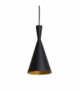 BRUS Lamp-Black Steel Inspiración Beat Tall de Tom Dixon