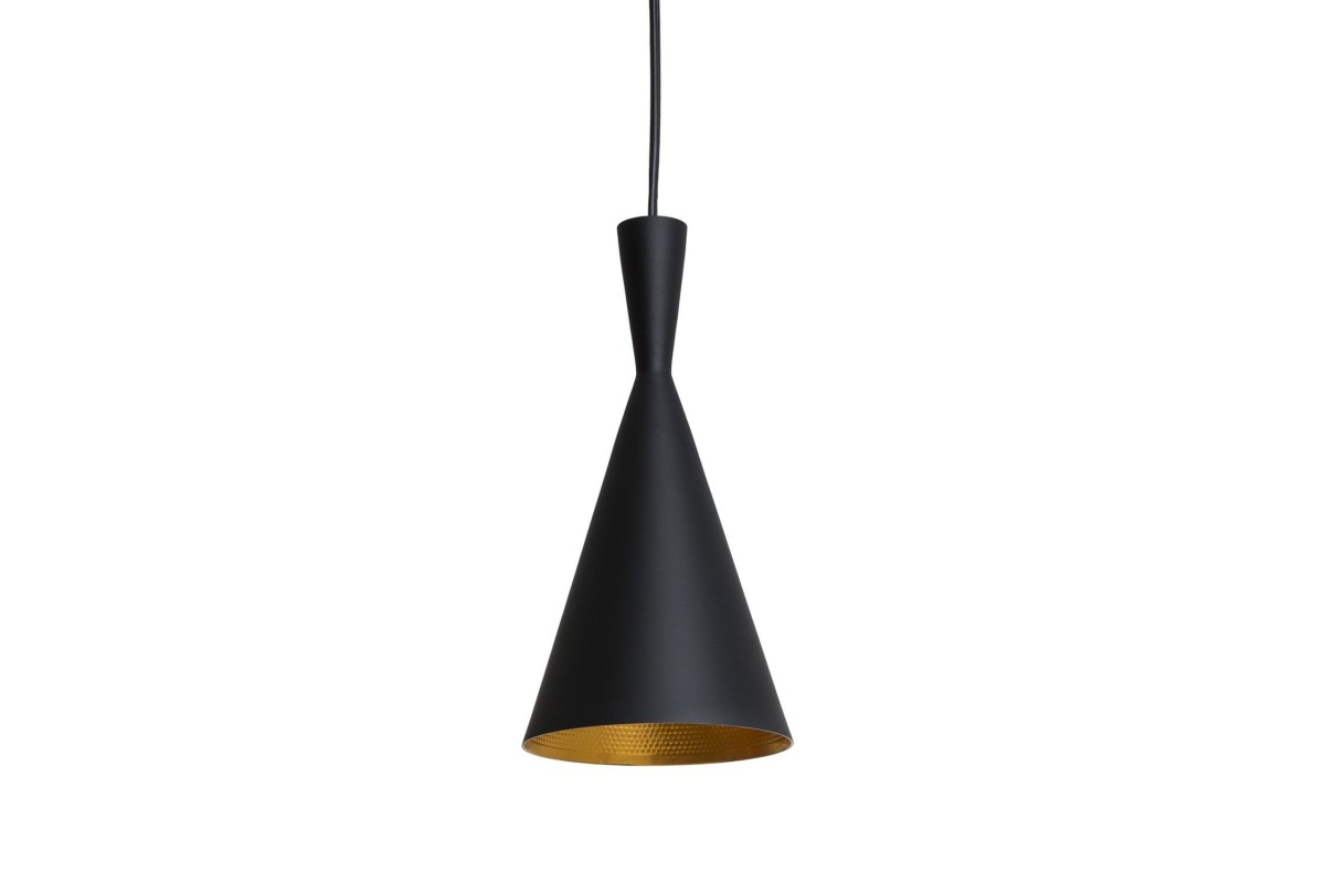 BRUS Lamp-Black Steel Inspiración Beat Tall de Tom Dixon