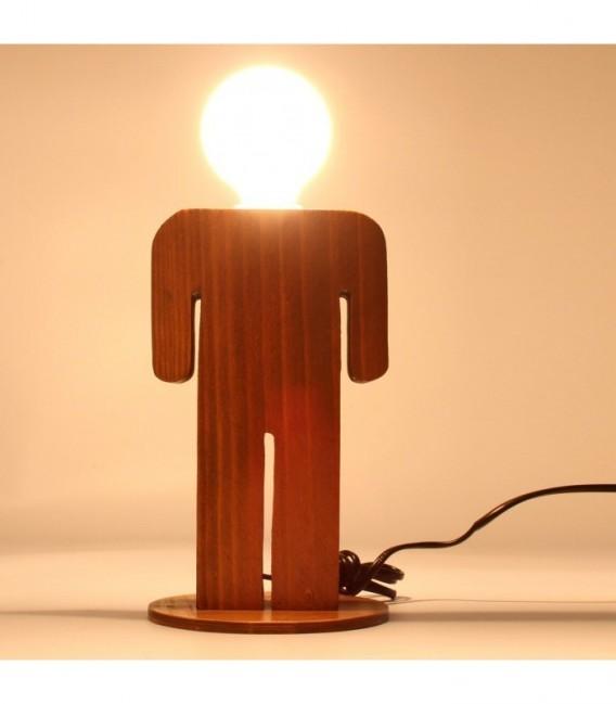 Lámpara de Sobremesa MAN-Madera
