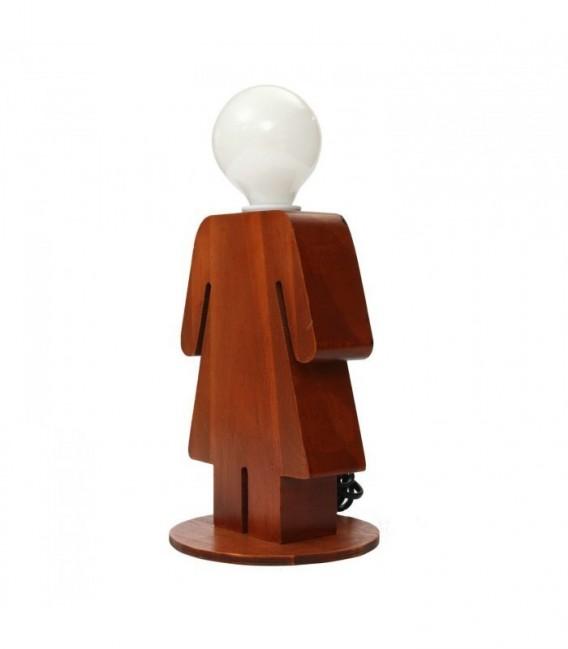 Lampe de table WOMAN-Wood