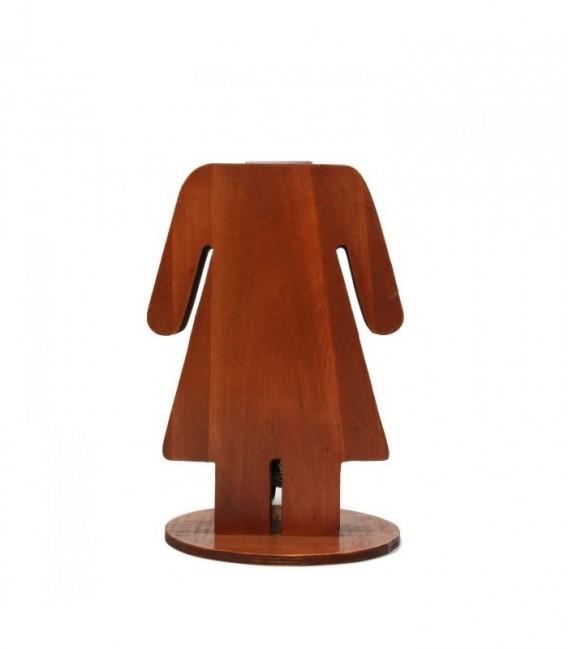 Lámpara de Sobremesa WOMAN-Madera