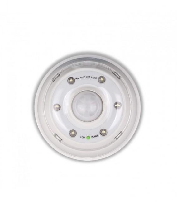 6-LED Motion Sensor Light-White