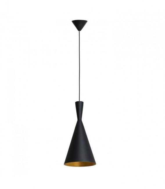 Lámpara BRUS-Acero negro Inspiración Beat Tall de Tom Dixon
