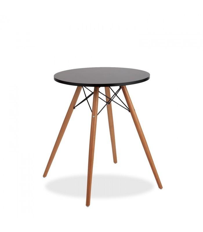 Mesa de caf tower negro mobelium - Mesita de cafe ...