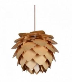 Lampe OFFENE ANANAS Buchenholz-Beech