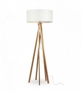 Lampe RINGO -Buchenholz--White